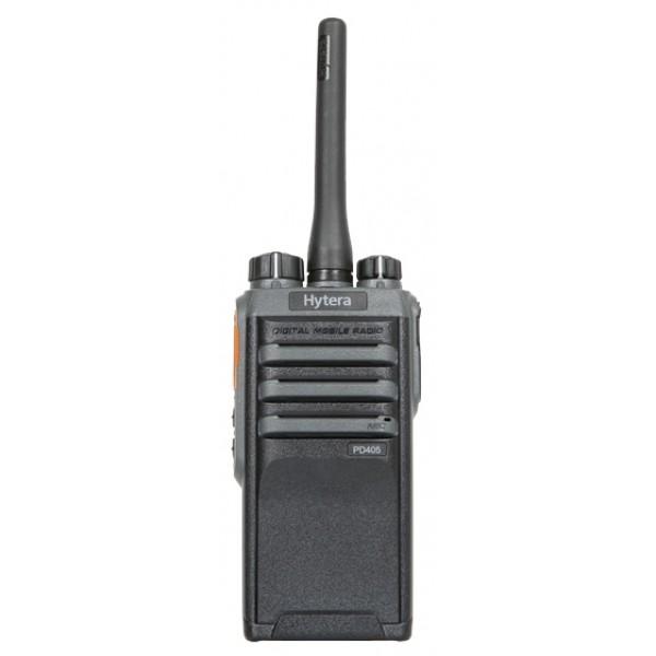 Радиостанция Hytera PD405Цифровая радиостанция. Улучшенное качество звука. Цифровая голосовая связь громче и чище. Автоматическое распознавание аналогового и цифрового режимов. Поддержка двух режимов (аналоговый и цифровой) обеспечивает плавный переход с аналогового на цифровой<br><br>Прочная, соответствует стандартам IP55 и MIL-STD-810 C/D/E/F/G<br><br><br>Индивидуальные вызовы, групповые вызовы и вызов всех радиостанций<br><br>Компактная, гладкая и легкая<br><br>В цифровом режиме радиостанция работает до 16 часов (1500 мА/ч) при рабочем цикле 5-5-90.<br><br>Стандарты IP55 &amp;amp; MIL-STD-810 C/D/E/F/G<br><br>Предустановленные текстовые сообщения<br><br>Отправка предустановленных текстовых сообщений ивыполнение вызовов одним касанием.<br><br>Поддержка двух режимов (аналоговый и цифровой) обеспечивает плавный переход с аналогового на цифровой.<br><br>В режиме прямой связи TDMA стандарта DMRA (2 тайм-слота) поддерживается два одновременных голосовых вызова.<br><br>Голосовое управление (VOX) позволяет инициировать вызов непосредственно голосом.<br><br>Функция автоматического распознавания аналогового и цифрового режима автоматически определяет тип сигнала и переключается в нужный режим.<br><br>Вес кг: 0.30000000