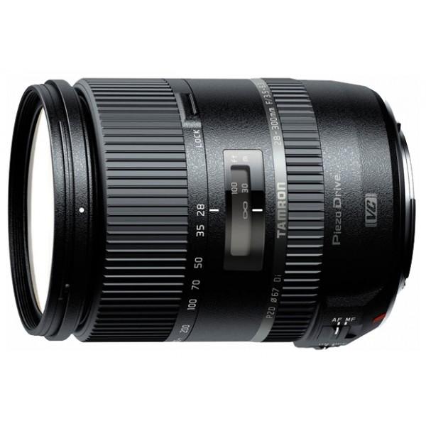 Объектив Tamron 28-300mm f/3.5-6.3 Di VC PZD (A010N) Nikon FШирокоугольный Zoom-объектив, <br>крепление Nikon F, встроенный мотор, <br>встроенный стабилизатор изображения, <br>автоматическая фокусировка, <br>минимальное расстояние фокусировки 0.49 м, <br>размеры (DхL): 74x96 мм, <br>вес: 540 г<br><br>Вес кг: 0.60000000