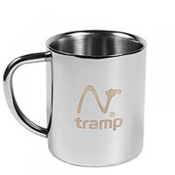 Термокpужка Tramp TRC-009Термокружка с двойными стенками отлично сохраняет тепло. Полированная поверхность легко моется. Ручки надежно присоединены к корпусу с помощью круговой сварки и никогда не оторвутся<br>