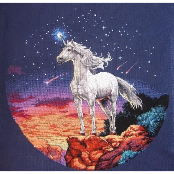 Sunset Unicorn Mystique (Мистический единорог).13657 СШАНабор для вышивания Sunset 13657 Unicorn Mystique (Мистический единорог)<br>