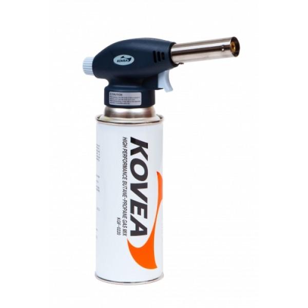 Резак газовый Kovea Auto KT-2511Газовый резак Kovea KT-2511 Fire Bird Torch - компактный резак средней мощности, для выполнения технических работ. Оборудован пьезоподжигом. Температура пламени может достигать 1300 °C. Газовый резак рассчитан для работы с высоким цанговым газовым баллоном Kovea KGF-0220, не подходит для работы с баллонами резьбового стандарта, так как не предусмотрена установка переходника.<br><br>Вес кг: 0.20000000