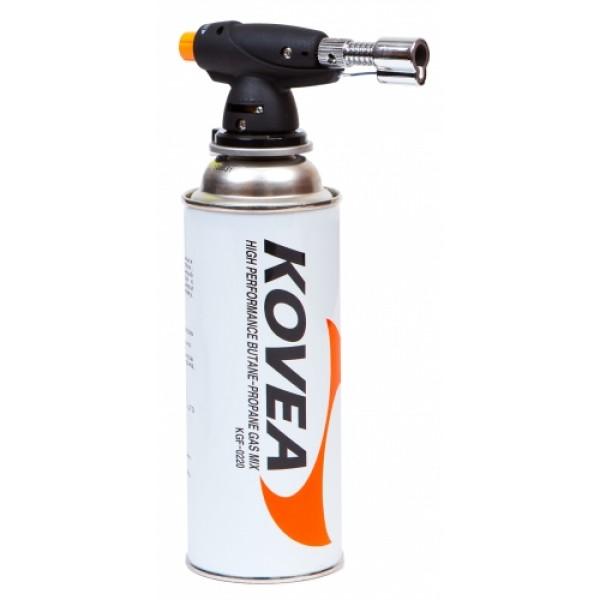 Паяльник газовый Kovea Auto KT-2301Газовый резак KT-2301 Micro Torch - газовый паяльник для точных и тонких работ. Высоко ценится в среде ювелиров. Оборудован пьезоподжигом. Температура пламени может достигать 1300 градусов. Газовый резак рассчитан для работы с высоким цанговым газовым баллоном Kovea KGF-0220, не подходит для работы с баллонами резьбового стандарта, так как не предусмотрена установка переходника.<br><br>Вес кг: 0.20000000