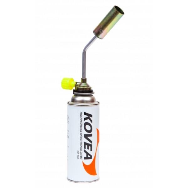 Резак газовый Kovea KT-2008Газовый резак KT-2008 Rocket - бюджетный высокомощный универсальный резак широкого применения, выполненый в виде паяльной лампы. Предпочтительно использовать для технических задач, где применима высокая огневая мощь. Температура пламени достигает 1300 °C. Газовый резак рассчитан для работы с высоким цанговым газовым баллоном Kovea KGF-0220, не подходит для работы с баллонами резьбового стандарта, так как не предусмотрена установка переходника.<br><br>Вес кг: 0.20000000