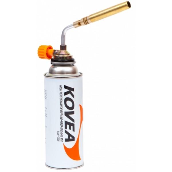 Резак газовый Kovea KT-2104Газовый резак KT-2104 Brazing Torch - мощный универсальный резак широкого применения, выполненный в виде паяльной лампы. Обладает самой высокой в линейке температурой пламени, до 1300°C. Предпочтительно использовать для технических задач, где применима его высокая огневая мощь. Газовый резак рассчитан для работы с высоким цанговым газовым баллоном Kovea KGF-0220, не подходит для работы с баллонами резьбового стандарта, так как не предусмотрена установка переходника.<br><br>Вес кг: 0.20000000