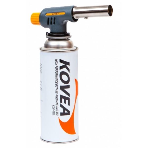 Резак газовый Kovea Auto TKT-9607Газовый резак TKT-9607 Multi Purpose Torch - простой бюджетный универсальный резак средней мощности для технических работ. Оборудован пьезоподжигом. Температура пламени может достигать 1300°C. Газовый резак рассчитан для работы с высоким цанговым газовым баллоном Kovea KGF-0220, не подходит для работы с баллонами резьбового стандарта, так как не предусмотрена установка переходника.<br><br>Вес кг: 0.20000000