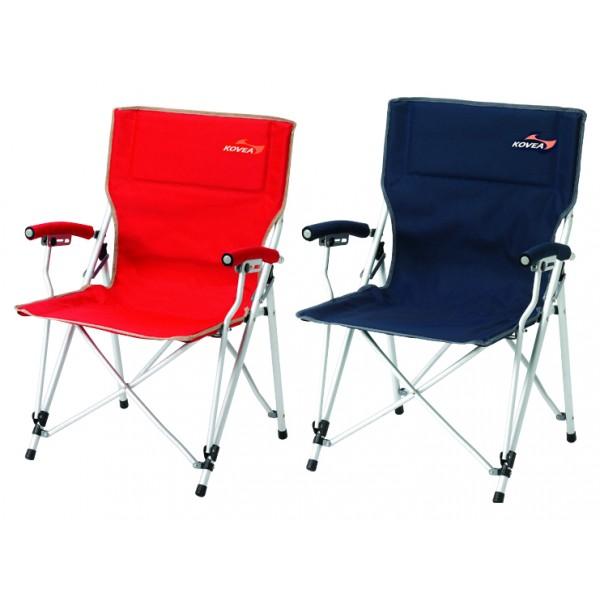 Кресло Kovea Lux Slim Chair KJ8FN0203Складное кресло. Профилированный алюминиевый каркас высокой прочности, надежная стальная фурнитура.<br><br>Вес кг: 3.40000000