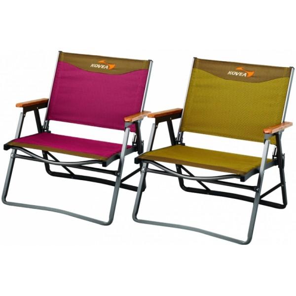 Кресло Kovea Titan Flat Chair M KM8CH0201Складное кресло. Деревянные подлокотники. Алюминиевый каркас холодного анодирования, надежная стальная фурнитура. Цвета: комбинированный бордо/комбинированный песочный<br><br>Вес кг: 2.30000000