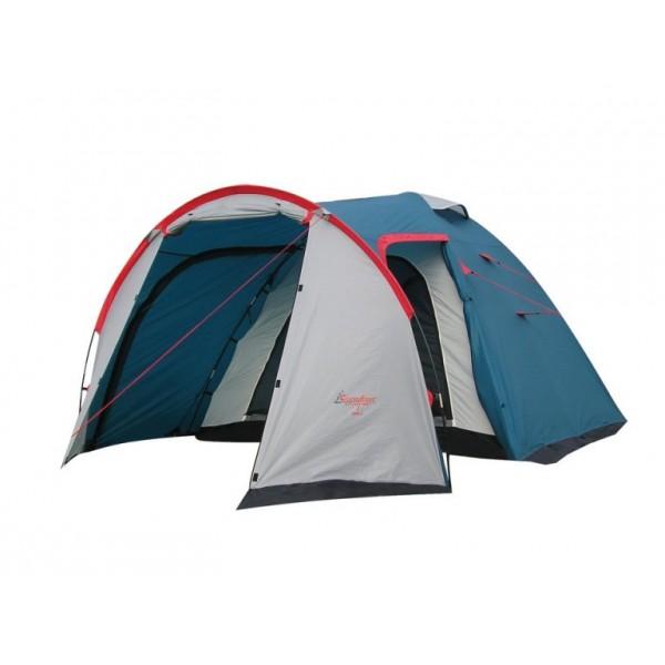 Палатка Canadian Camper RINO 3 Royal трекинговаятрекинговая палатка, 3-местная, внешний каркас, дуги из стеклопластика, 2 входа / одна комната, высокая водостойкость, вес: 4.9 кг<br><br>Вес кг: 4.90000000