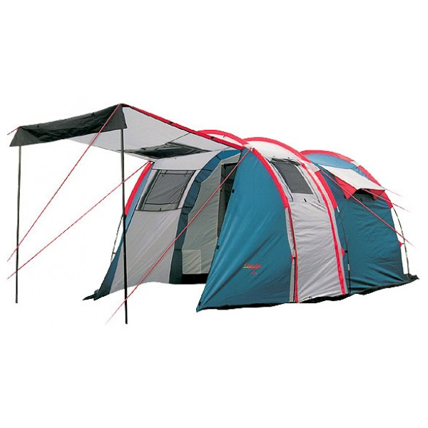 Палатка Canadian Camper TANGA 3 Royal кемпинговаякемпинговая палатка, 3-местная, внешний каркас, дуги из стеклопластика, 2 входа / одна комната, высокая водостойкость, вес: 7.2 кг<br><br>Вес кг: 7.20000000