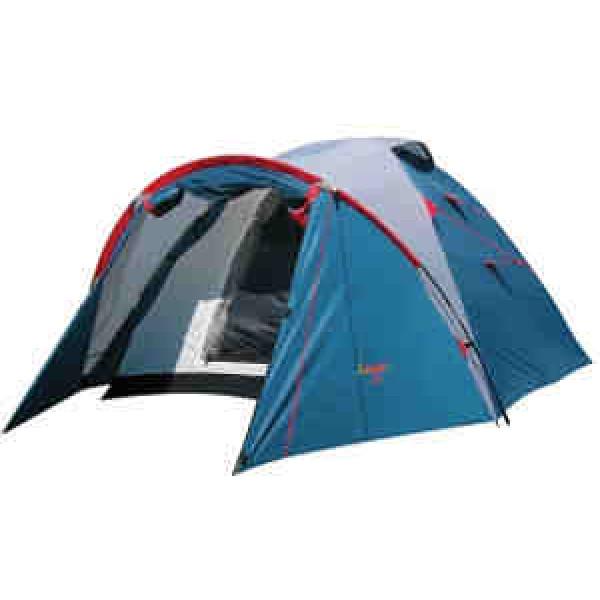 Палатка Canadian Camper KARIBU 4 Royal кемпинговаякемпинговая палатка, 4-местная, внутренний каркас, дуги из стеклопластика, 2 входа / одна комната, высокая водостойкость, вес: 5.2 кг<br><br>Вес кг: 5.20000000