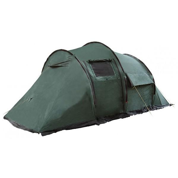 Палатка Canadian Camper TANGA 5 (цвет woodland) кемпинговаякемпинговая палатка, 5-местная, внешний каркас, дуги из стеклопластика, 3 входа / 2 комнаты, высокая водостойкость, вес: 11.4 кг<br><br>Вес кг: 11.50000000