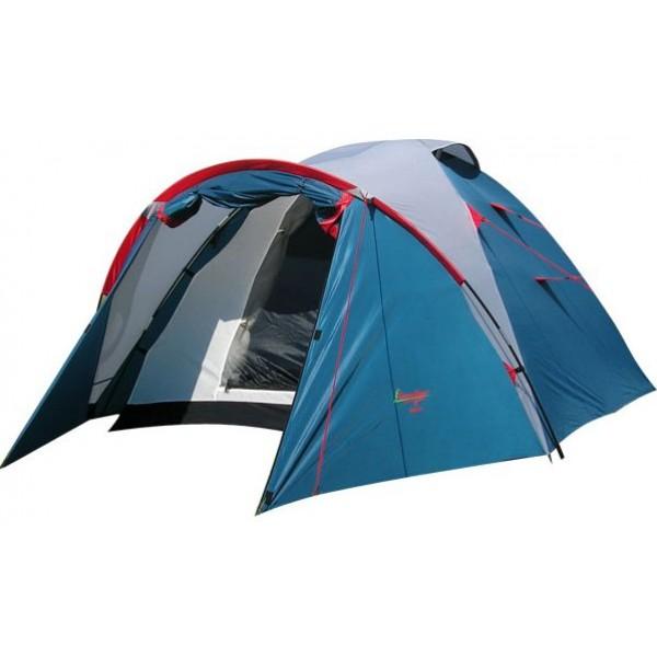 Палатка Canadian Camper KARIBU 2 Royal трекинговаятрекинговая палатка, 2-местная, внешний каркас, дуги из стеклопластика, 2 входа / одна комната, высокая водостойкость, вес: 3.8 кг<br><br>Вес кг: 3.80000000