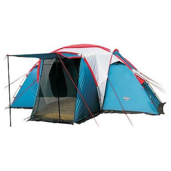 Палатка Canadian Camper SANA 4 PLUS кемпинговаякемпинговая палатка, 4-местная, внешний каркас, дуги из стеклопластика, 2 входа / 2 комнаты, высокая водостойкость, вес: 13.6 кг<br><br>Вес кг: 13.70000000