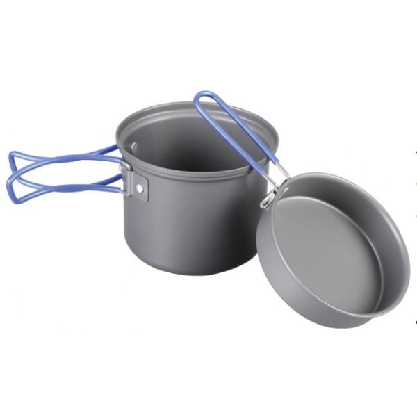 Котелок Tramp TRC-039 с крышкой-сковородой анодированныйКотелок с крышкой-сковородой Tramp TRC-039 из анодированного алюминия<br><br>Вес кг: 6.50000000