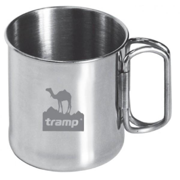 Кружка Tramp TRC-011Со сложенными ручками кружка занимает минимум места в рюкзаке. Ручки надежно прикреплены к корпусу с помощью точечной сварки.<br>
