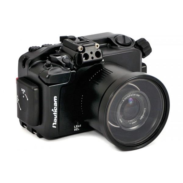 Nauticam Подводный бокс для Sony NEX-7NA-NEX7 – Алюминиевый компакт-бокс для беззеркальной фотокамеры Sony NEX-7. Беззеркальный компакт Sony NEX-7 сравним по качеству изображения с зеркальными камерами DSLR, кроме того стоит оценить видеосъемку Full HD Video. Наличие сменных объективов также положительно сказывается на возможностях этой камеры для подводной съемки.<br>Компания предлагает несколько минипортов для бокса камеры NEX-7 (см. Port Chart ). Особенно примечательно, что бокс также совместим слегендарными подводными объективами Nikonos 15mm, 20mm, 28mm, 35mm, 80mm, а также фишаем Sea &amp; Sea 15mm/f3.5 fisheye. Бокс является одним из самых миниатюрных и легких в линейке Nauticam. Каждый экземпляр бокса Nauticam с заявленной по паспорту глубиной 100м, перед выходом с производства тестируется в воде под давлением соответствующим глубине 150 метров.<br>