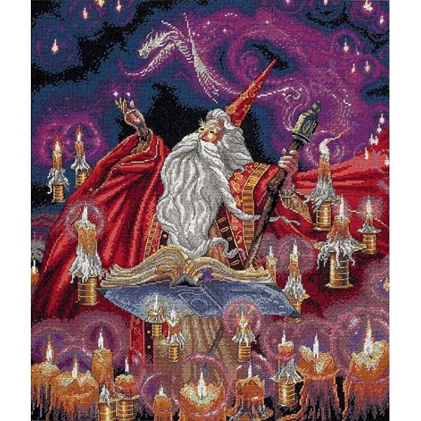 Dimensions Scarlet Wizard  (Багровый волшебник).35141 СШАНабор для вышивания Dimensions 35141 Scarlet Wizard  (Багровый волшебник)<br>