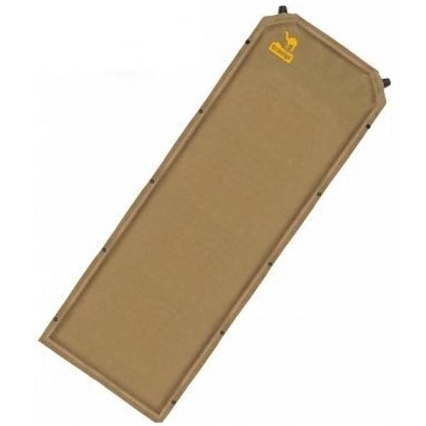 Коврик Tramp TRI-009 самонадувающийсяУдобный самонадувающийся коврик толщиной 7 сантиметров. В комплекте чехол и компрессионные ремни. Сверху коврик выполнен из тканой замши (приятный на ощупь+не сползает спальник), а снизу на коврик нанесены точки Slides Less, препятствующие скольжению по дну палатки даже при ночевках на наклонных поверхностях. Коврик снабжен двумя клапанами для более быстрого надувания и кнопками с обеих сторон для состегивания с другими ковриками.<br><br>Вес кг: 2.50000000