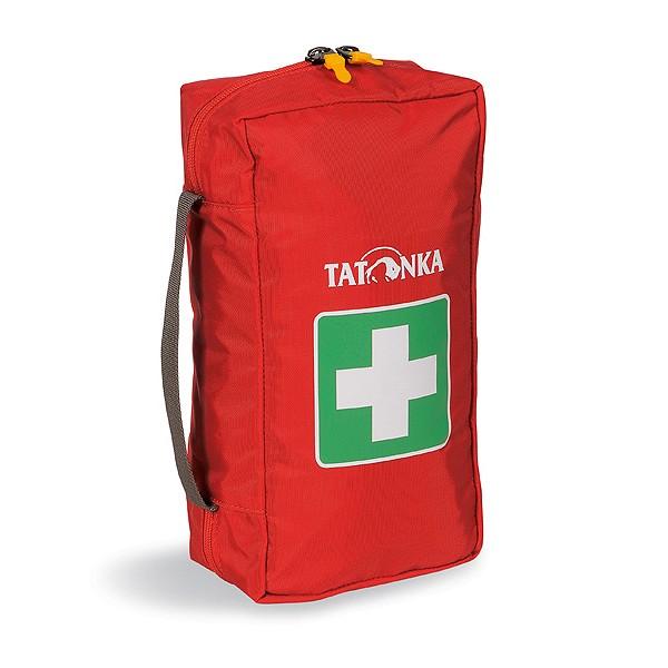 Аптечка Tatonka First Aid MКомпактная походная аптечка (без содержимого). Аптечка удобно раскладывается, имеет множество кармашков внутри, молнию по периметру и петли для крепления на пояс. Поставляются и продаются ненаполненными.<br><br>Вес кг: 0.20000000