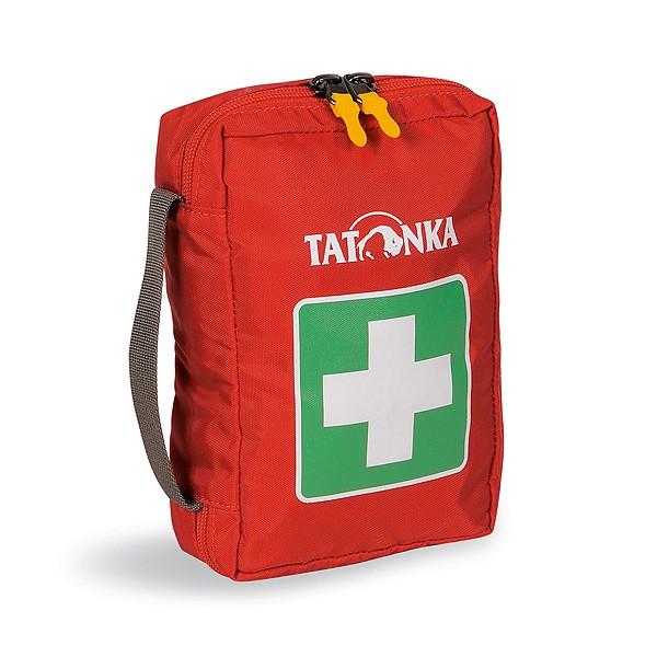 Аптечка Tatonka First Aid SКомпактная походная аптечка (без содержимого). Аптечка удобно раскладывается, имеет множество кармашков внутри, молнию по периметру и петли для крепления на пояс. Поставляются и продаются ненаполненными.<br><br>Вес кг: 0.20000000