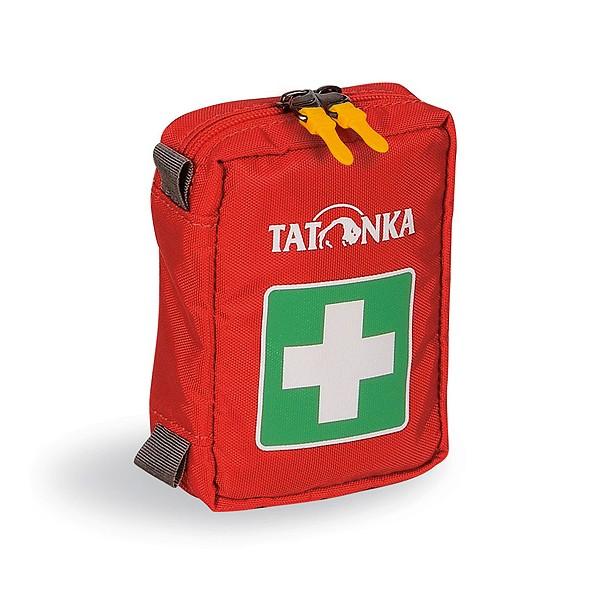 Аптечка Tatonka First Aid XSКомпактная походная аптечка (без содержимого). Аптечка имеет молнию по периметру и петлю для крепления на пояс. Поставляются и продаются ненаполненными.<br><br>Вес кг: 0.10000000