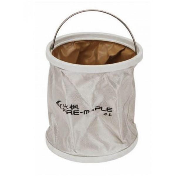 Ведро складное 4л Fire-Maple Bucket 4 FMB-904FMB-904 сделано из прочного водонепроницаемого материала Окфорд с герметичными швами, не займет много места в сложенном состоянии и идеально подойдет не только в походе, но и при решении множества хозяйственных задач. Прекрасно подойдет для кемпинга, охоты, рыбалки, отдыха на воде, садоводства, мытья машины т.д. Размеры: 170х195 мм. Вес 235 г. Объем 4 л.<br><br>Вес кг: 0.30000000