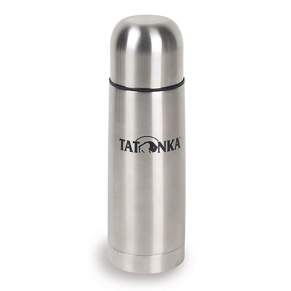 Термос Tatonka Hot&amp;Cold Stuff 1.0 лАбсолютно небьющийся термос из нержавеющей стали. Горячее остается горячим, а холодное холодным. С широким горлышком и практичной винтовой пробкой, открутив которую на 1-1.5 оборота, можно наливать в чашку горячий чай или кофе, не вынимая пробку из термоса. Крышка от термоса это симпатичный гермо-стаканчик, сохраняющий температуру напитка и всегда прохладный снаружи.<br><br>Вес кг: 0.60000000
