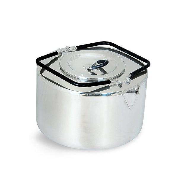 Чайник Tatonka Teapot 2,5 LЧайник из нержавеющей стали с термоизолированными ручками и компактным дизайном. Замечательно подходит для использования дома и на выезде. В комплекте ситечко из нержавеющей стали<br><br>Вес кг: 0.60000000