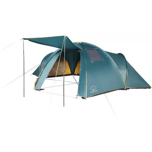 Палатка Greenell Гранард 6 кемпинговаяБольшая кемпинговая палатка Greenell Гранард 6 с 3-мя комнатами и очень большим тамбуром. Три комфортных спальных отделения, проточная вентиляция и прозрачные окна способствуют отличному отдыху. Возможна отдельная установка тента. Все швы проклеенные. Предусмотрена ветрозащитная юбка и противомоскитная сетка. Внутри палатки имеются петли для фонаря и карманы.<br><br>Вес кг: 19.10000000