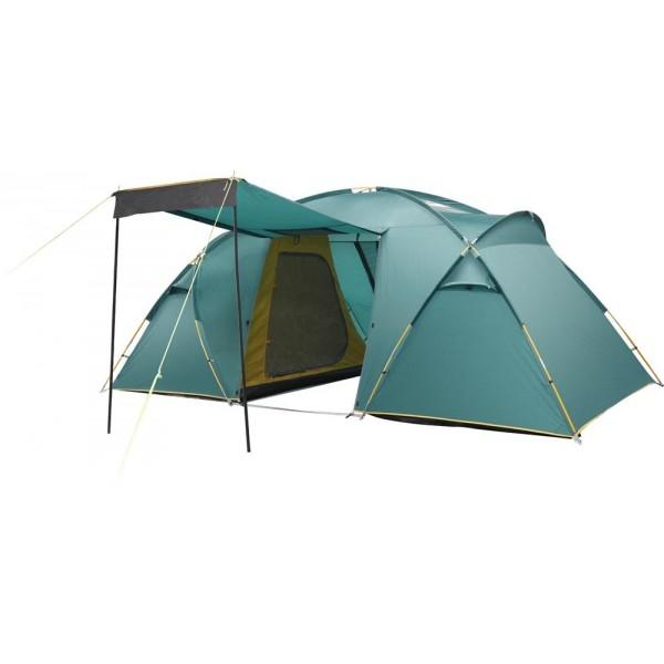 Палатка Greenell Виржиния 4 v.2Комфортная кемпинговыя палатка Greenell Виржиния 4 v.2 с двумя комнатами. В данной модели есть два спальных отделения. Просторный тамбур с двумя входами. Предусмотрена эффектная система вентиляции. Также возможна отдельная установка тента. Палатка оснащена прозрачными окнами. Проклеенные швы усиливают конструкцию. Имеется ветрозащитная юбка и противомоскитная сетка.<br><br>Вес кг: 11.90000000