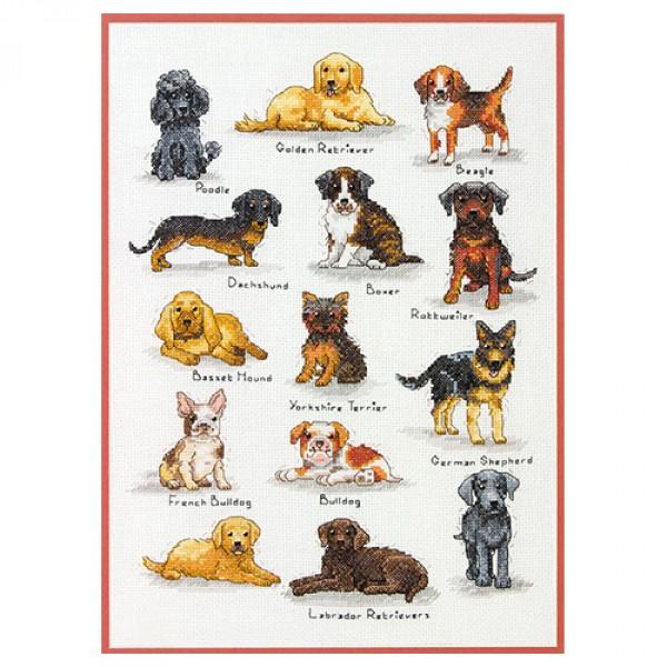 Dimensions Породы собак. 35353-70Набор для вышивания Dimensions  Породы собак. 35353-70<br>