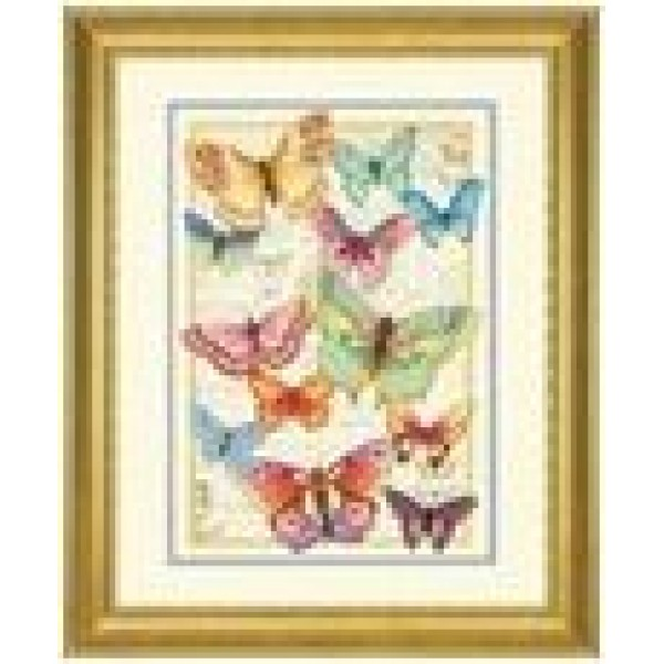 Dimensions Красота бабочек. 35338-70Набор для вышивания Dimensions  Красота бабочек. 35338-70<br>