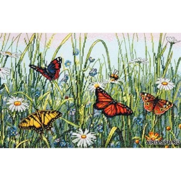 Dimensions Поле бабочек. 35271-70Набор для вышивания Dimensions Поле бабочек. 35271-70<br>