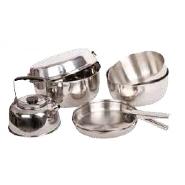 Набор посуды KingCamp Backpacker IV KP3915Набор посуды для похода<br>