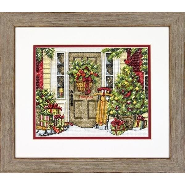 Dimensions Christmas Tradition, (Рождественские традиции).8961 КитайНабор для вышивания Dimensions 8961 Christmas Tradition, (Рождественские традиции)<br>