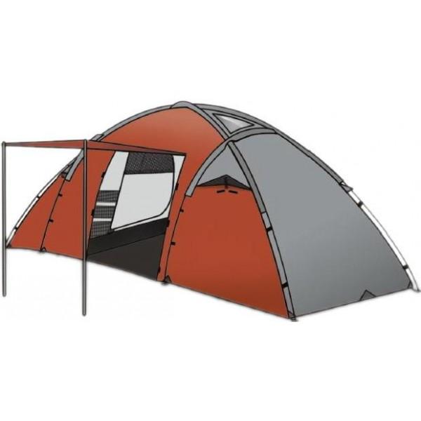 Палатка Indiana Derna 4Просторная, 2-х комнатная, 4-х местная кемпинговая палатка.<br><br>Вес кг: 7.90000000