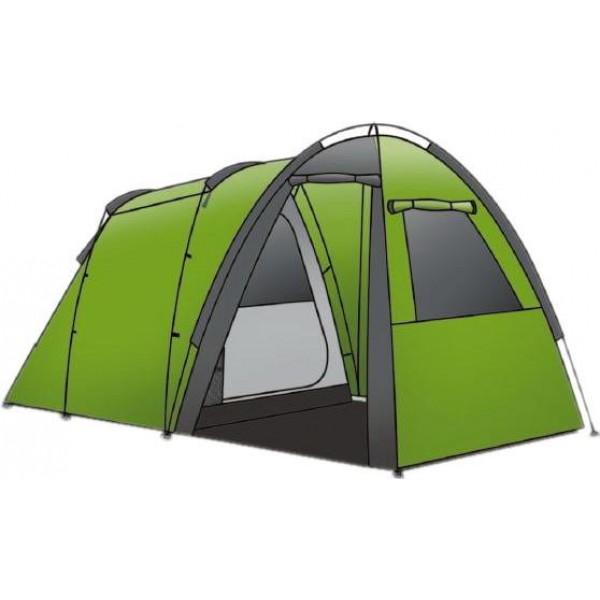 Палатка Indiana Ozark 4Кемпинговая палатка Indiana OZARK 4 используются для комфортного отдыха во время пикников или выездов на природу всей семьей на автомобиле. Она очень проста в установке и удобна в эксплуатации. Палатка выделяется повышенной вместительностью и большими размерами.<br><br>Вес кг: 7.10000000