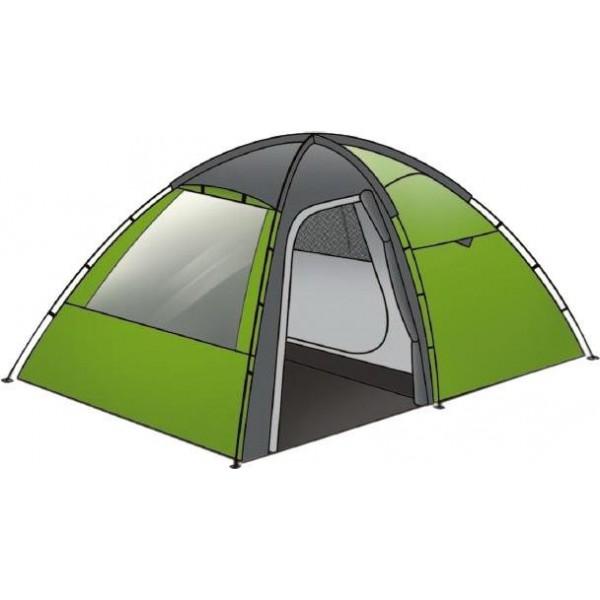 Палатка Indiana Veracruz 3Трекинговая палатка Indiana VERACRUZ 3 предназначена для пеших или велосипедных походов, в которых вес инвентаря играет значительную роль. Она очень проста в установке и удобна в эксплуатации. Палатка выделяется водостойкостью тента и повышенной стойкостью к сильному ветру.<br><br>Вес кг: 6.40000000