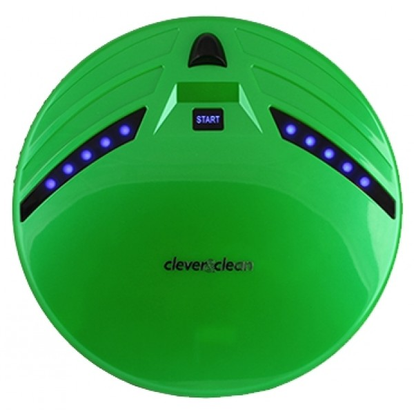 Робот-пылесос Clever&amp;Clean Z10A greenпылесос-робот, сухая уборка, с циклонным фильтром, без мешка для сбора пыли, автономное питание<br>