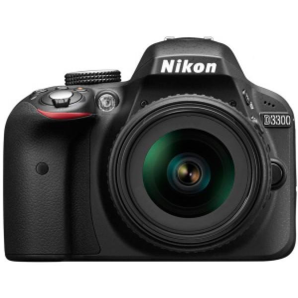Фотоаппарат Nikon D3300 Kit 18-140 VR зеркальныйлюбительская зеркальная фотокамера, поддержка сменных объективов с байонетом Nikon F, объектив в комплекте, матрица 24.7 мегапикселов (23.2 x 15.4 мм), съемка видео разрешением до 1920x1080, экран 3, вес камеры без аккумулятора и объектива 430 г<br><br>Вес кг: 0.50000000
