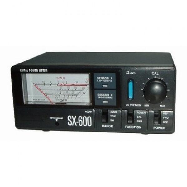 КСВ метр Vega SX-600КВС-метр Vega SX-600 - прибор для измерения входной мощности и КВС. Он имеет хорошую точность и оснащен индикатором подсветки. На Vega SX-600 при измерении мощности отображаются пиковые и усреднённые значения.<br><br>Вес кг: 0.80000000