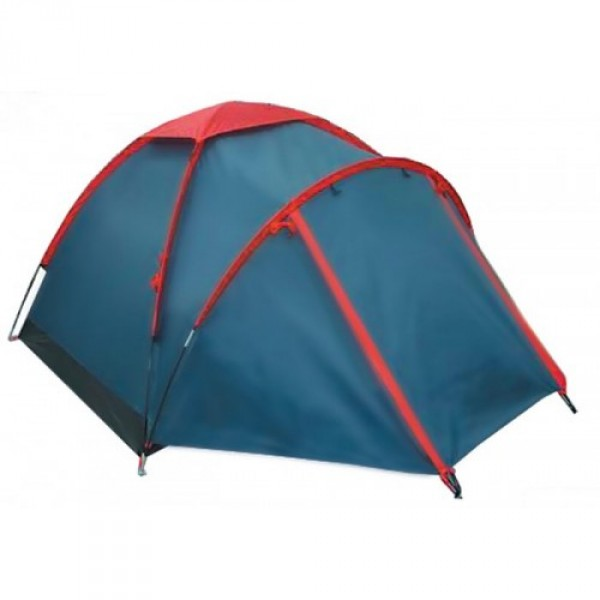 """Палатка Sol FLYЛегкая, однослойная палатка с тамбуром. В тамбуре туристической палатки Sol Fly 2 можно разместить рюкзаки, обувь. Легкая сборка, наружный каркас, возможна установка без растяжек.<br><br>Конструкция - обтекаемая """"полусфера"""", легкая в установке на любой местности и неприхотливая в эксплуатации. Устойчивая, за счет дополнительной внешней дуги тамбура. Один вход, один тамбур, с комфортом вмещает двоих.<br><br>Тент – водонепроницаемый, устойчивый к растяжению. Вентиляционное окно расположено в верхушке купола. Обработан составом для поглощения UF лучей и пропиткой, предотвращающей распространение огня. Оборудован растяжками с вплетением светоотражающей нити и проклеенными швами.<br><br>Дно – армированый полиэтилен (терпаулинг), загнутый по краям вверх для большей влагоустойчивости.<br><br>Каркас – несложная конструкция из двух перекрещивающихся фиберглассовых дуг, с дополнительной дугой для тамбура.<br><br>Комплект – тент, комплект дуг, комплект колышков, сумка-переноска с ручками, инструкция по сборке.<br><br>Вес кг: 2.90000000"""