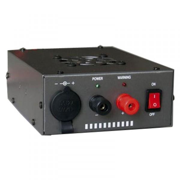 Преобразователь напряжения Vega PСS-620 19-30В/13.8В, 17/20АИмпульсный преобразователь Vega PCS-620 напряжения 24 В (19-30 В) в 13.8 В. Используется для подключения аппаратуры с питанием от 12 В в грузовых автомобилях и прочих местах, где напряжение бортовой сети составляет 24 В. <br>Предусмотрен вход для прикуривателя. <br>Максимальный ток 20 А, постоянный 17 А.  <br>Встроены системы защиты: Защита от короткого замыкания, защита от перегрузки и защита от превышения питания.<br><br>Вес кг: 0.90000000