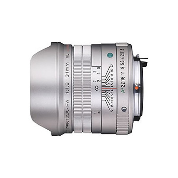 Объектив Pentax SMC FA 31mm f/1.8 AL Limited Black/Silver<br><br>Вес кг: 0.40000000