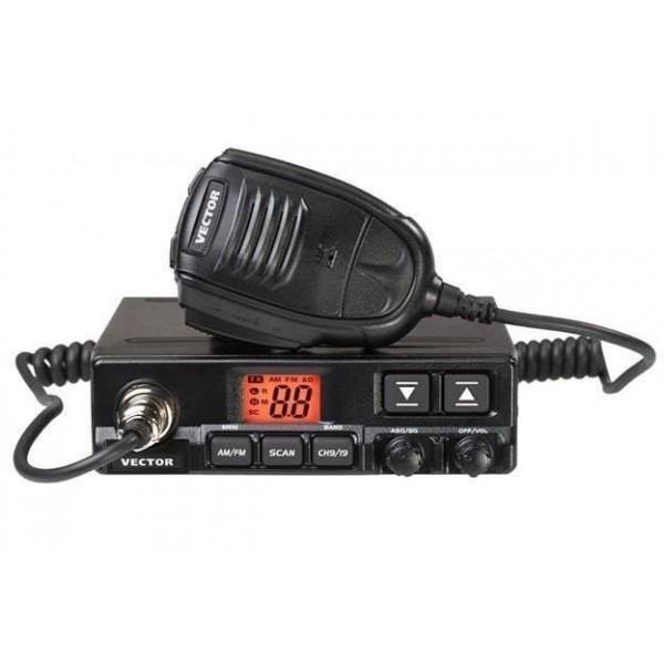 Радиостанция Vector VT-27 RADIUS v2.0 АвтоVector VT-27 Radius v2.0 - это CB радиостанция, имеет выходную мощность 10 Вт, двухразрядный светодиодный дисплей, предназначенный для индикации номера рабочего канала. От радиостанции Vector VT-27 Radius отличается новым профессиональным микрофоном с дополнительными кнопками [UP]/[DN] и удлиненным мягким кабелем. В радиостанции VECTOR VT-27 Radius реализован Профессиональный режим работы с ячейками памяти ProMem ®! Вы можете запрограммировать до 10 каналов памяти, которые Вам необходимы для работы, переключиться в Профессиональный канальный режим и больше не беспокоиться о том, что Вы случайно можете затеряться в большом количестве частот и каналов и потерять своего абонента! Регулятор SQ позволяет обеспечить бесшумную работу радиостанции на прием при отсутствии полезного сигнала. В радиостанции VT-27 Radius реализовано 2 режима работы шумоподавителя: ручной (пороговый, по уровню фона радиоэфира) и автоматический (по спектру радиосигнала), настройки не требует.<br><br>Вес кг: 0.80000000