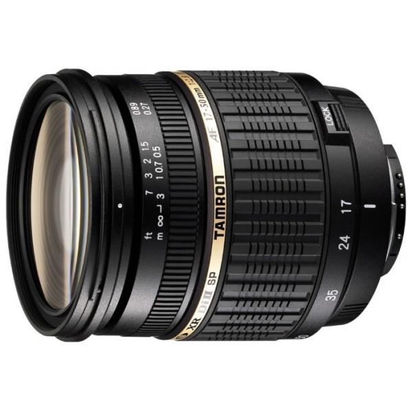 Объектив Tamron SP AF 17-50mm f/2.8 XR Di II LD Aspherical (IF) (A16P) Pentax KTamron SP 17-50mm F/2,8 XR Di II LD ASL [ IF] – новый легкий и быстрый стандартный зум-объектив, спроектированный специально для цифровых зеркальных фотокамер. Этот объектив задумывался как продолжатель традиций Tamron SP AF 28-75mm F/2.8 XR Di LD Aspherical [ IF] MACRO. Важное преимущество объектива Tamron 17-50 – его диафрагма f/2.8. Это дает возможность художественного размытия заднего плана (боке), позволяя сосредоточить внимание только на объекте съемки, например, при съемке портретов. Этот объектив также обеспечивает очень хорошие возможности при съемке с близкого расстояния (среди стандартных зумов с большим относительным отверстием). Обратите внимание на то, что фотограф может использовать диафрагму f/2.8 на всем диапазоне фокусных расстояний, что встречается не так часто в объективах этого класса. Tamron 17-50 спроектирован специально для использования с цифровыми зеркальными фотокамерами (в обозначении – Di II). Это говорит о том, что при максимальном качестве оптики, присущем объективам серии Di, объективы серии Di II обладают меньшим весом и более компактны.<br><br>Самое минимальное в мире фокусное расстояние (всего 27 см) было достигнуто с использованием трех XR элементов (стекла повышенным коэффициентом отражения) в передней группе в сочетании с новой механической конструкцией, но в то же время обладает меньшим весом и более компактен. Максимальный коэффициент увеличения 1:4,5 и вес 430 г также делают его мировым лидером среди объективов в том же классе с диафрагмой F/2.8. Использование трёх сложных асферических элементов, стекла LD и просветляющего покрытия BBAR гарантирует великолепное качество изображения, безукоризненную цветопередачу, а также отсутствие ореолов. В результате Вы получаете изображение превосходной четкости.<br><br>Вес кг: 0.50000000
