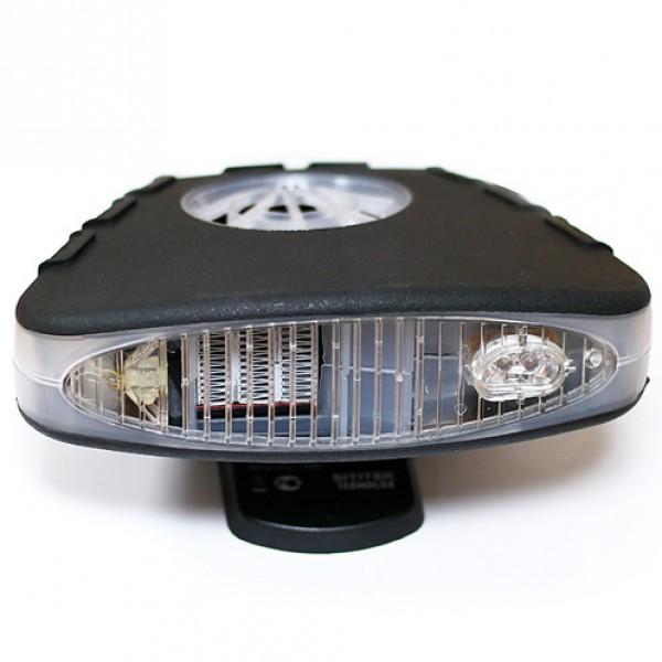 Обогреватель салона автомобиля Sititek Termolux-150WОбогреватель SITITEK Termolux-150 поможет ускорить обогрев в салоне автомобиля, в кратчайшие сроки разморозит лобовое или заднее стекло, предотвратит запотевание окон авто. Мощность обогревателя 150 Ватт, питание от прикуривателя 12 В, длина провода 2 метра.<br><br>Основные возможности автомобильного обогревателя салона SITITEK Termolux-150:<br><br><br>Бесшумная работа благодаря бесщеточному электродвигателю вентилятора.<br><br>Выдвижная ручка позволяет комфортно удерживать устройство, направляя поток воздуха в нужную сторону. При желании можно закрепить прибор в салоне.<br><br>Оснащен мощной светодиодной подсветкой — дополнительное освещение автомобиля.<br>
