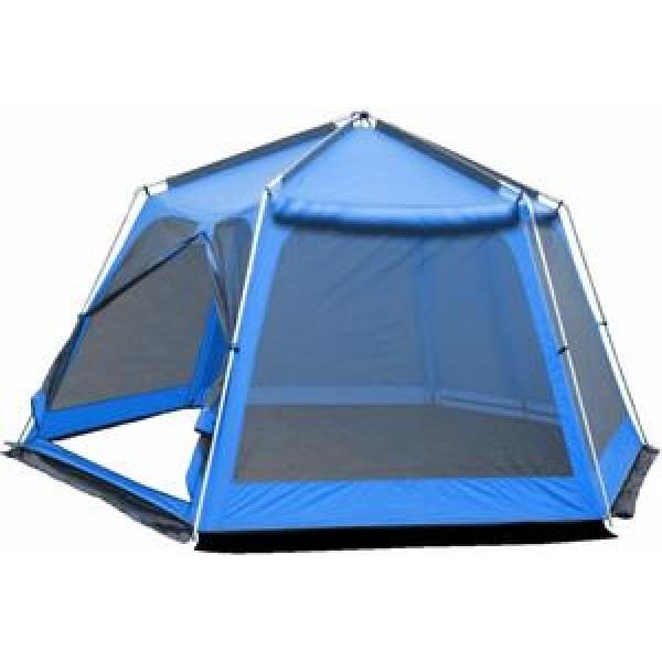 Тент-шатер Sol Mosquito BlueШатер Sol Mosquito предназначен для организации кухни или столовой во время походов. Он оборудован ветрозащитной юбкой.<br><br>Вес кг: 9.70000000