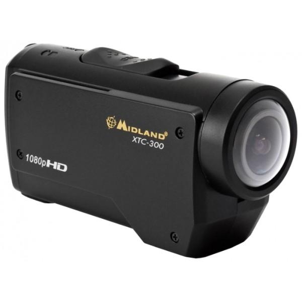 Экшен-Камера Midland XTC-300запись видео высокой четкости (FullHD) на карты памяти, карты памяти SD, SDHC, вес: 110 г<br><br>Вес кг: 0.20000000