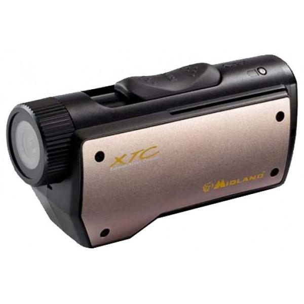 Экшн камера Midland XTC-200запись видео высокой четкости (HD) на карты памяти, карты памяти SD, SDHC, вес: 93 г<br><br>Вес кг: 0.10000000